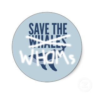 Save the whoms
