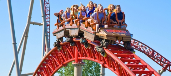 This is a literal roller coaster ride. (Image courtesy of cedarpoint.com.)