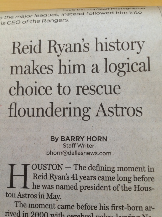 Perhaps the editor had gone fishin' that day . . .