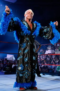 Ladies and gentlemen, the flamboyantly fabulous Ric Flair!